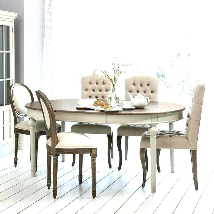 Fabulous Ii Oval Extending Dining G Ning Table And Chairs Set Round Intended For Round Dining Tables Extends To Oval (Image 6 of 25)