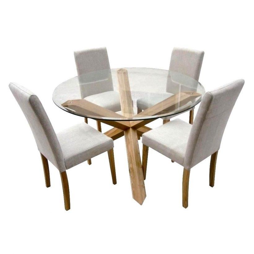 Fabulous Oak Glass Dining Tables Ideas Glass Dining Tables Ideas Within Glass Dining Tables With Oak Legs (Image 9 of 25)