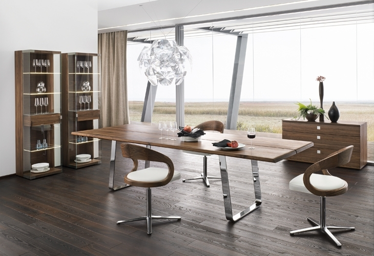 Factors To Consider When Buying Dining Room Tables – Elites Home Decor Within Modern Dining Suites (Image 12 of 25)