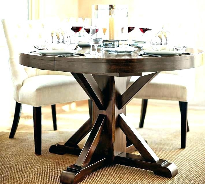 Fancy Dining Table Round Extending Round Expandable Dining Tables In Small Round Extending Dining Tables (Image 13 of 25)