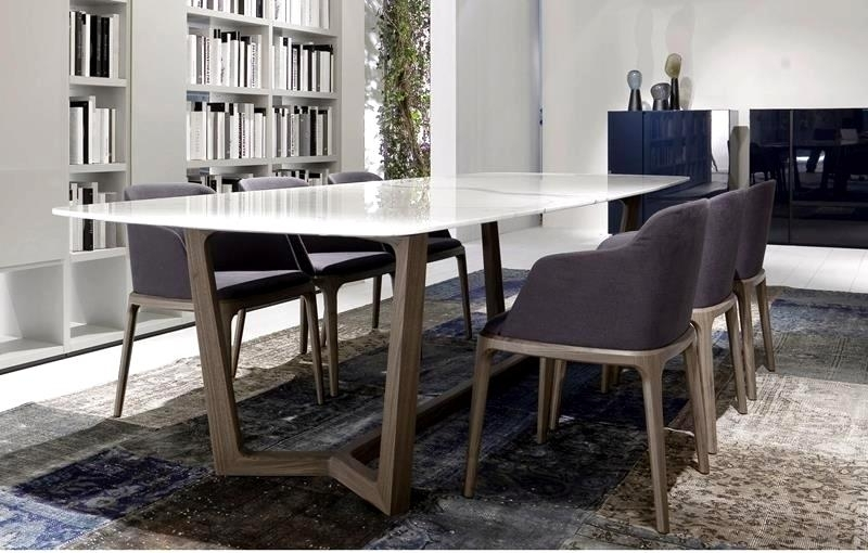Fantastic Contemporary Dining Tables Sleek Ideas Sleek Contemporary With Regard To Sleek Dining Tables (Image 12 of 25)