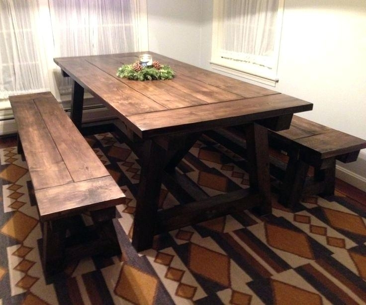 Farm Dining Table Best Rustic Farmhouse Table Ideas On Farm Kitchen Throughout Farm Dining Tables (View 17 of 25)