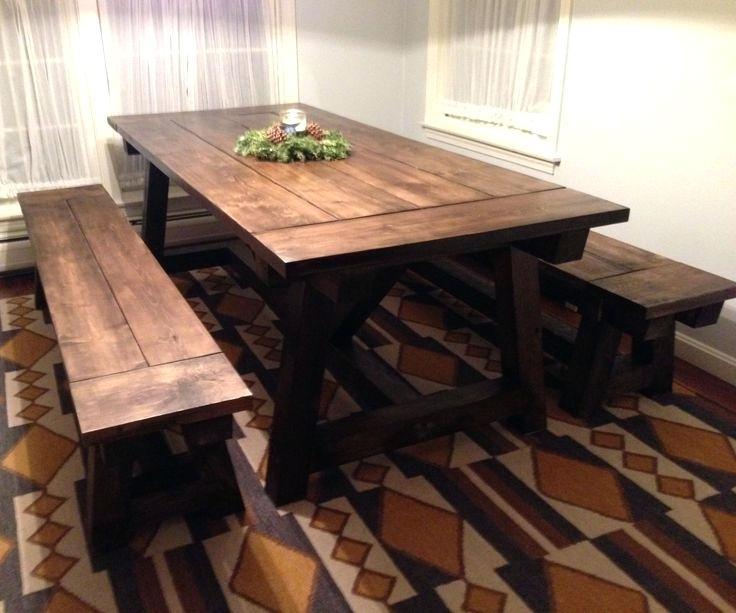 Farm Dining Table Best Rustic Farmhouse Table Ideas On Farm Kitchen Throughout Farm Dining Tables (Photo 17 of 25)