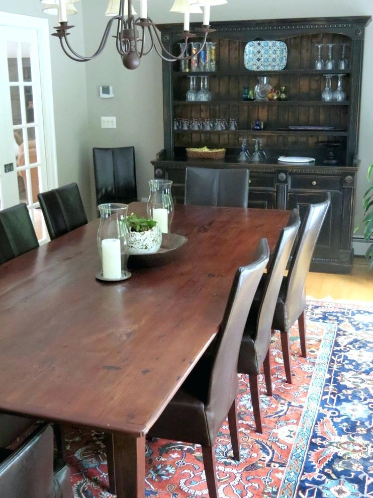 Farm House Dining Table Country Farmhouse Tables Distressed Farm Intended For Barn House Dining Tables (Image 14 of 25)