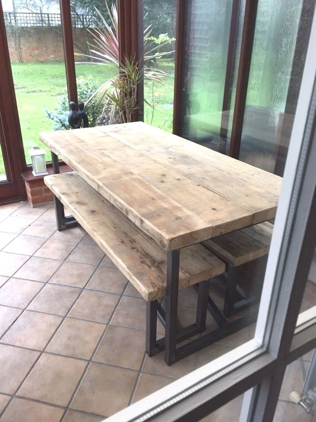 Farmhouse Dining Table Oval (Image 7 of 25)