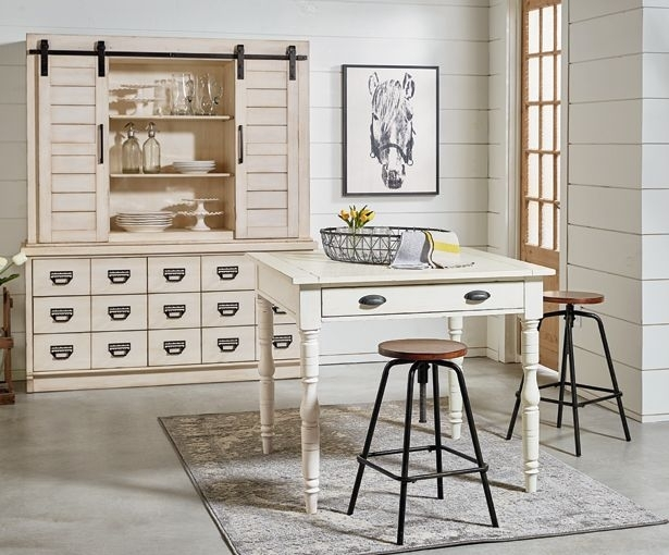 Farmhouse Gathering Table Dining – Magnolia Home | Magnolia Homes Regarding Magnolia Home Taper Turned Jo's White Gathering Tables (View 16 of 25)