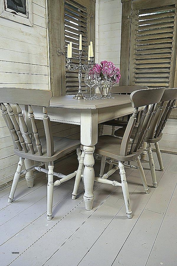 Farmhouse Style Kitchen Table Chairs Shabby Chic Sets Luxury And Of For Shabby Dining Tables And Chairs (Image 5 of 25)