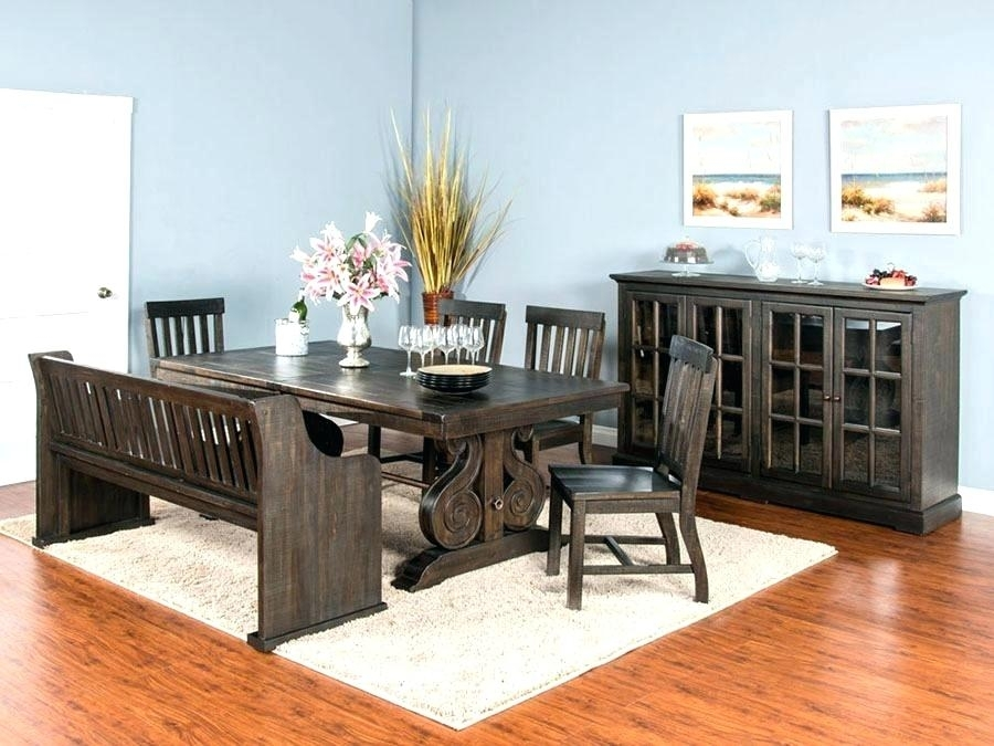 Farmhouse Trestle Dining Table Trestle Dining Set Trestle Dining Set For Magnolia Home Sawbuck Dining Tables (View 15 of 25)