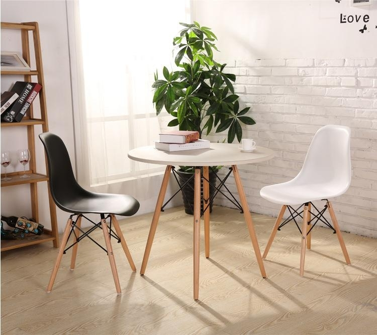 Fashion Simple Plastic Creative Leisure Coffee Plastic Tables Chairs Pertaining To Stylish Dining Chairs (Image 10 of 25)
