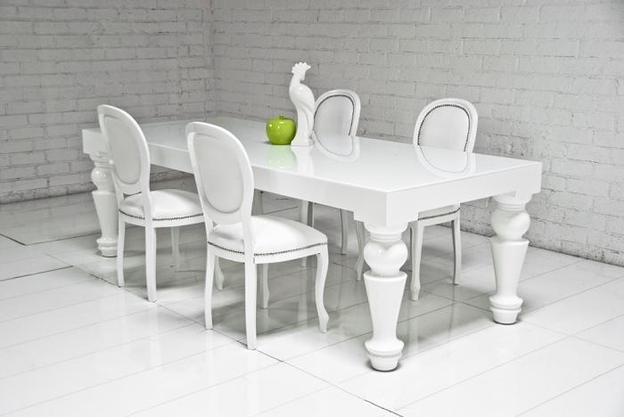 Fat Boy Dining Table I Roomservicestore Intended For Dining Tables With Large Legs (Image 11 of 25)