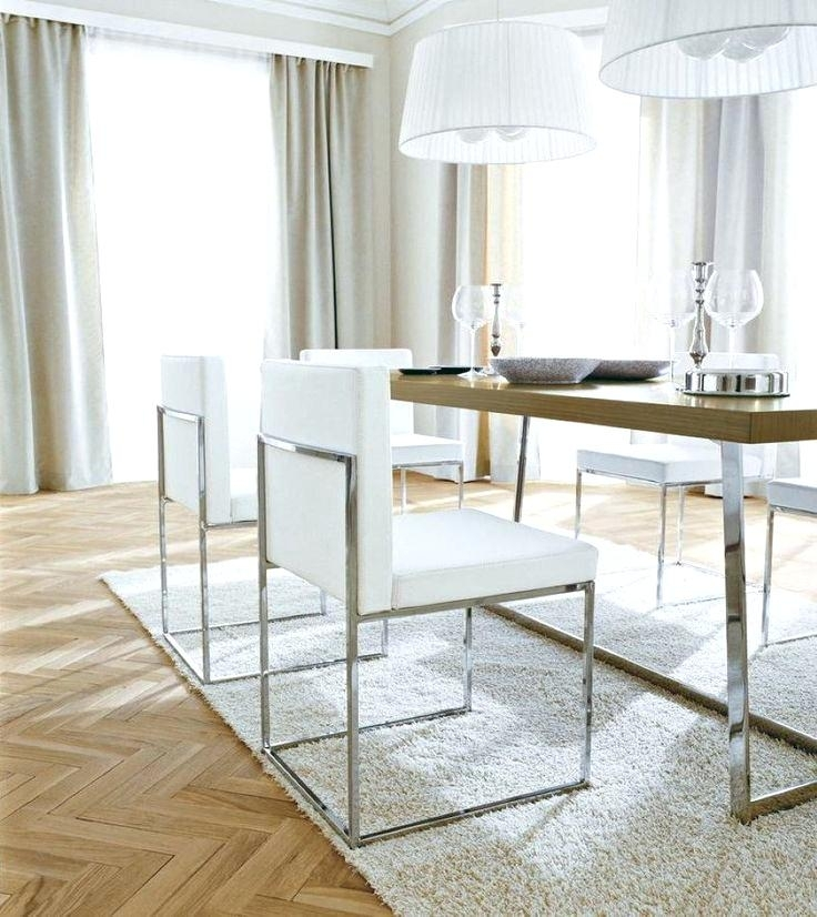 Faux Leather Dining Room Chairs Full Size Of Dining End Leather With Regard To White Leather Dining Room Chairs (Image 7 of 25)