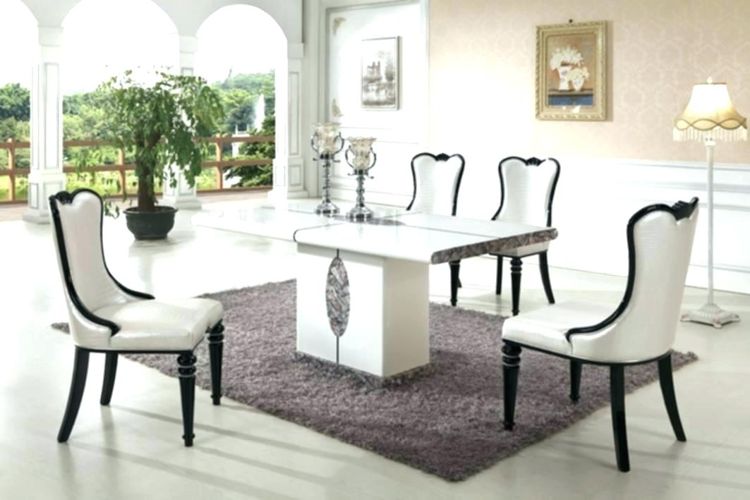 Faux Marble Dining Table Set 8 Chair Dining Table Set Modern Marble Throughout Solid Marble Dining Tables (View 17 of 25)
