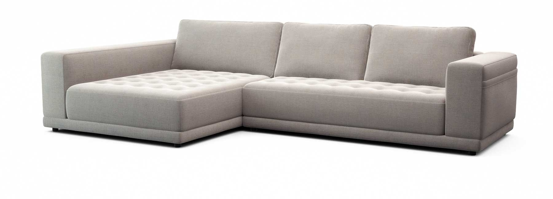 Felix Modular Sofa – Deep Seat Comfort | Tufted Seat | Lounge Pertaining To Norfolk Grey 6 Piece Sectionals (Image 8 of 25)