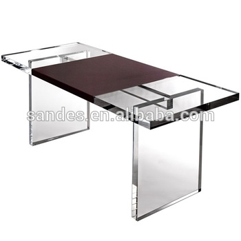 Fine Designed Large Clear Acrylic Folding Dining Table – Buy Modern Intended For Large Folding Dining Tables (Image 6 of 25)