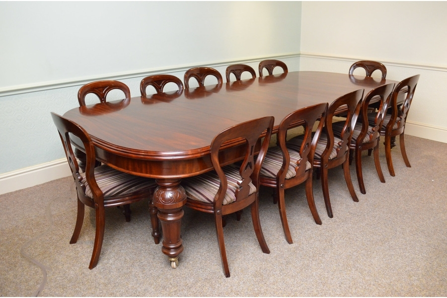Fine Quality Victorian Mahogany Extending Dining Table | Vinterior Pertaining To Mahogany Extending Dining Tables And Chairs (Image 14 of 25)