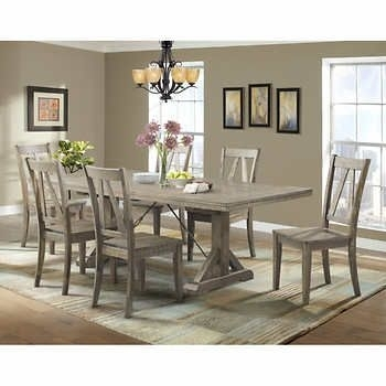 Finn 7 Piece Dining Set $1,489.99 Costco (Image 10 of 25)