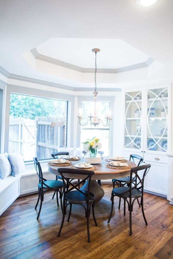 Fixer Upper | For The Home | Pinterest | House, Home And Room With Magnolia Home Breakfast Round Black Dining Tables (View 18 of 25)