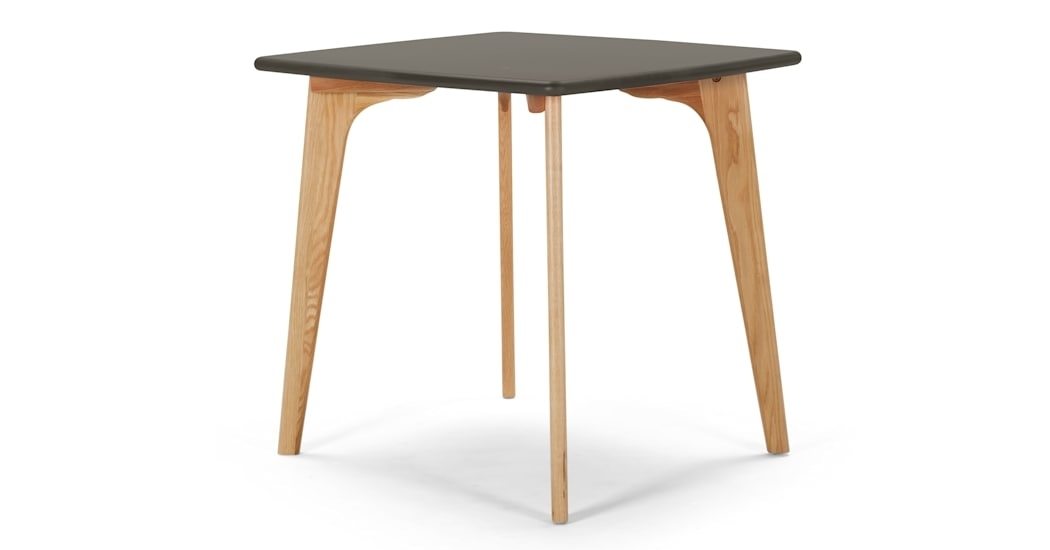 Fjord Compact Dining Table, Oak And Grey | Made Inside Compact Dining Tables (View 19 of 25)