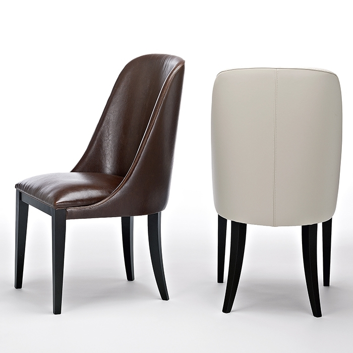 Flamingo Dark Brown Leather Dining Chairs – Robson Furniture Intended For Dark Brown Leather Dining Chairs (Image 13 of 25)