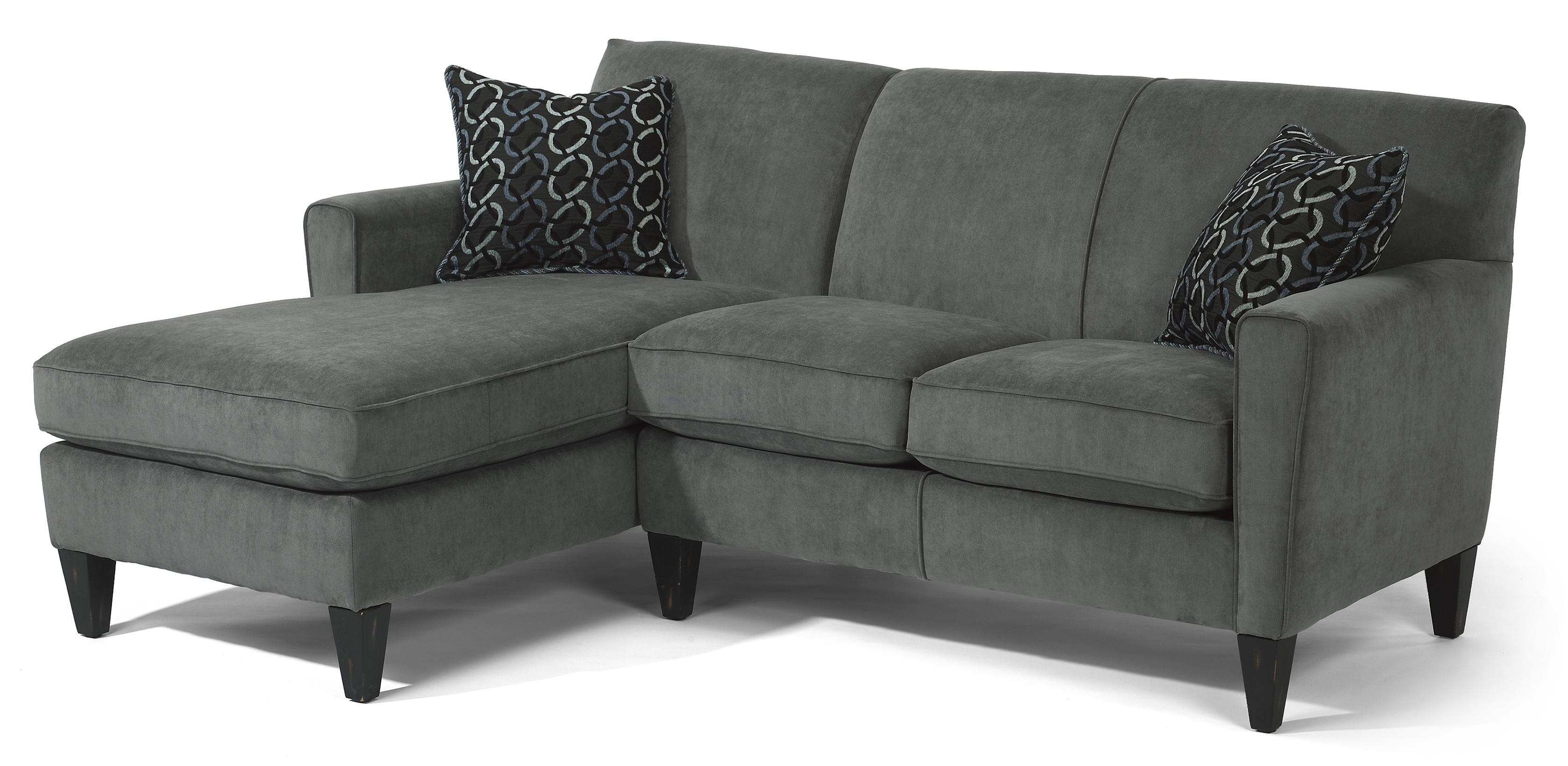 Flexsteel Digby Contemporary L Shape Sectional Sofa – Ahfa – Sofa Intended For Delano 2 Piece Sectionals With Laf Oversized Chaise (Image 16 of 25)