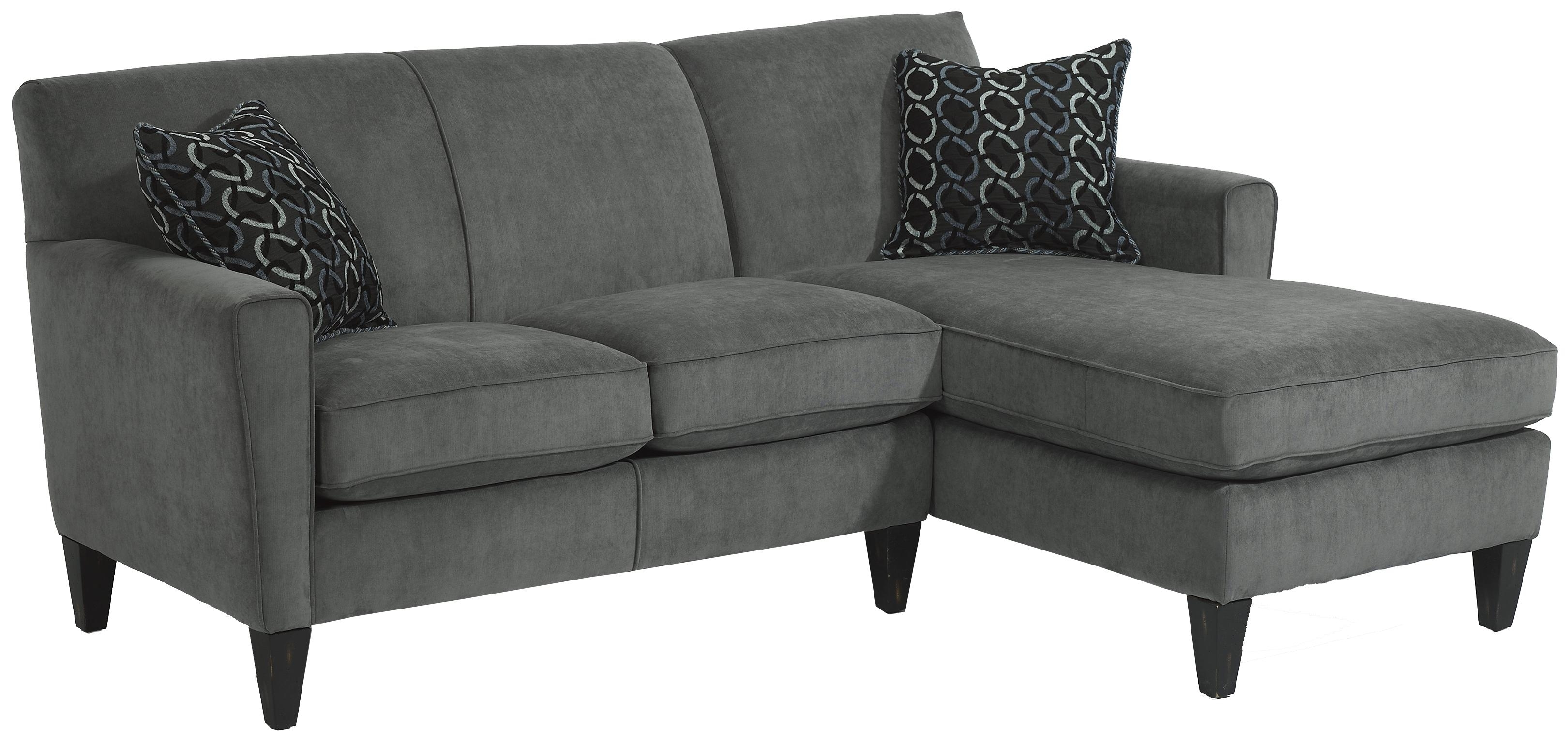Flexsteel Digby Contemporary Sectional Sofa With Raf Chaise – Ahfa Inside Norfolk Chocolate 6 Piece Sectionals With Laf Chaise (View 14 of 25)