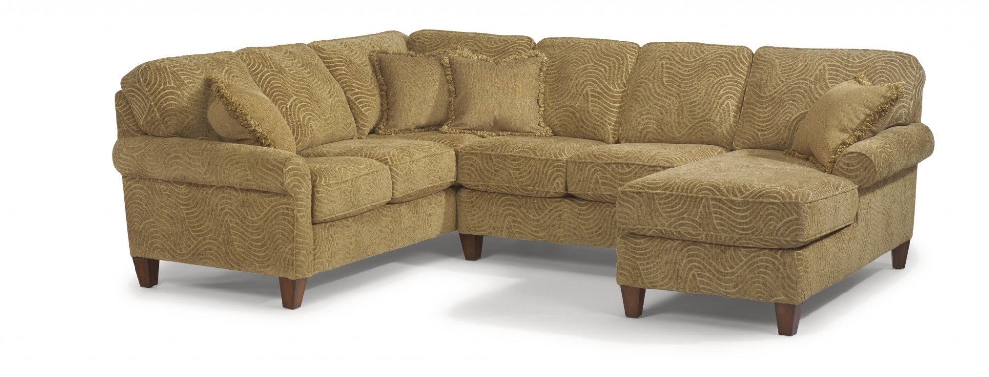 Flexsteel – Westside Sectional – Harris Family Furniture For Haven 3 Piece Sectionals (Image 9 of 25)
