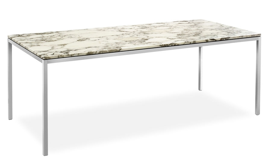 Florence Knoll Rectangular Dining Table – Hivemodern Regarding Florence Dining Tables (Image 14 of 25)