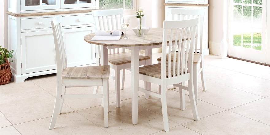 Florence Round Extended Dining Table And Chairs, Stunning Kitchen Inside Round Extending Dining Tables And Chairs (Image 11 of 25)