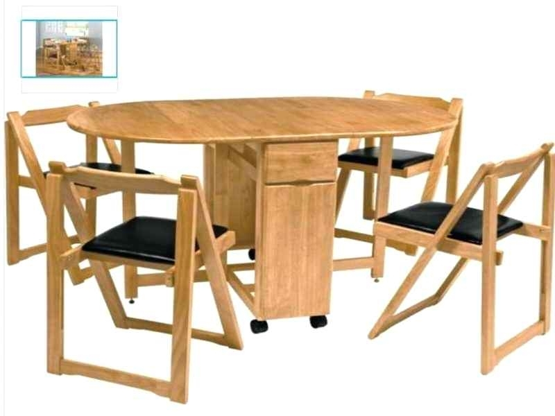 Foldable Dining Room Tables Folding Dining Table And Chairs Folding With Regard To Wood Folding Dining Tables (Image 10 of 25)