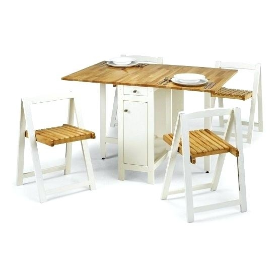 Folding Dining Table And Chairs Set – Newhillresort With Regard To Folding Dining Table And Chairs Sets (View 9 of 25)