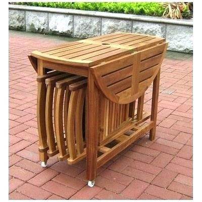 Folding Outdoor Dining Table Folding Outdoor Dining Chairs – Dinamos (Image 14 of 25)