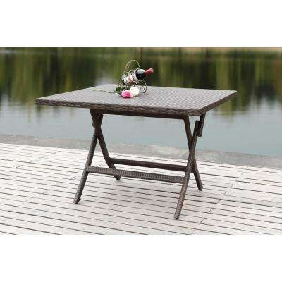 Folding – Patio Dining Tables – Patio Tables – The Home Depot With Regard To Folding Outdoor Dining Tables (View 16 of 25)
