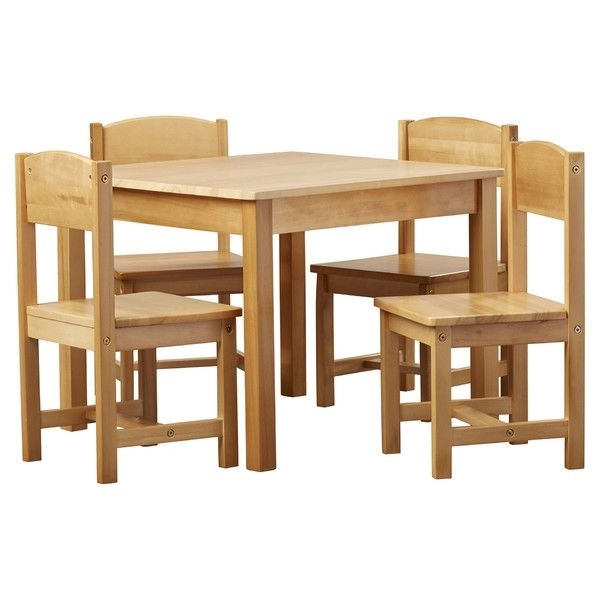 Found It At Joss & Main – 5 Piece Cora Youth Table & Chair Set | Kid Intended For Cora 5 Piece Dining Sets (Image 10 of 25)