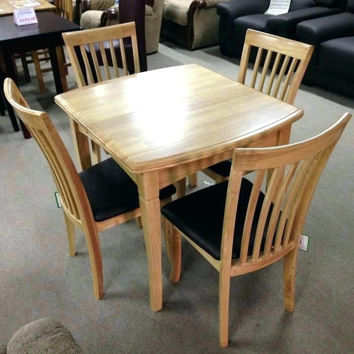 Four Chair Dining Table – Buddyicon Regarding Extendable Dining Table And 4 Chairs (View 2 of 25)