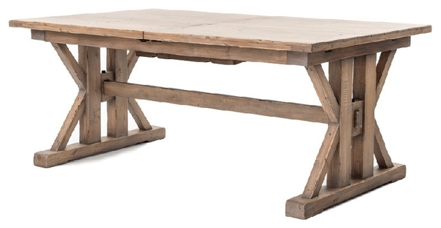 "Four Hands Furniture Tuscan Spring Extension Dining Table, 72""/96 Inside Combs Extension Dining Tables (Image 21 of 25)"