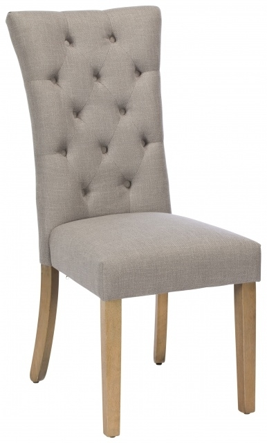 Fowey Fabric Dining Chair – Dining Chairs – Old Creamery Furniture Regarding Fabric Dining Chairs (Image 14 of 25)