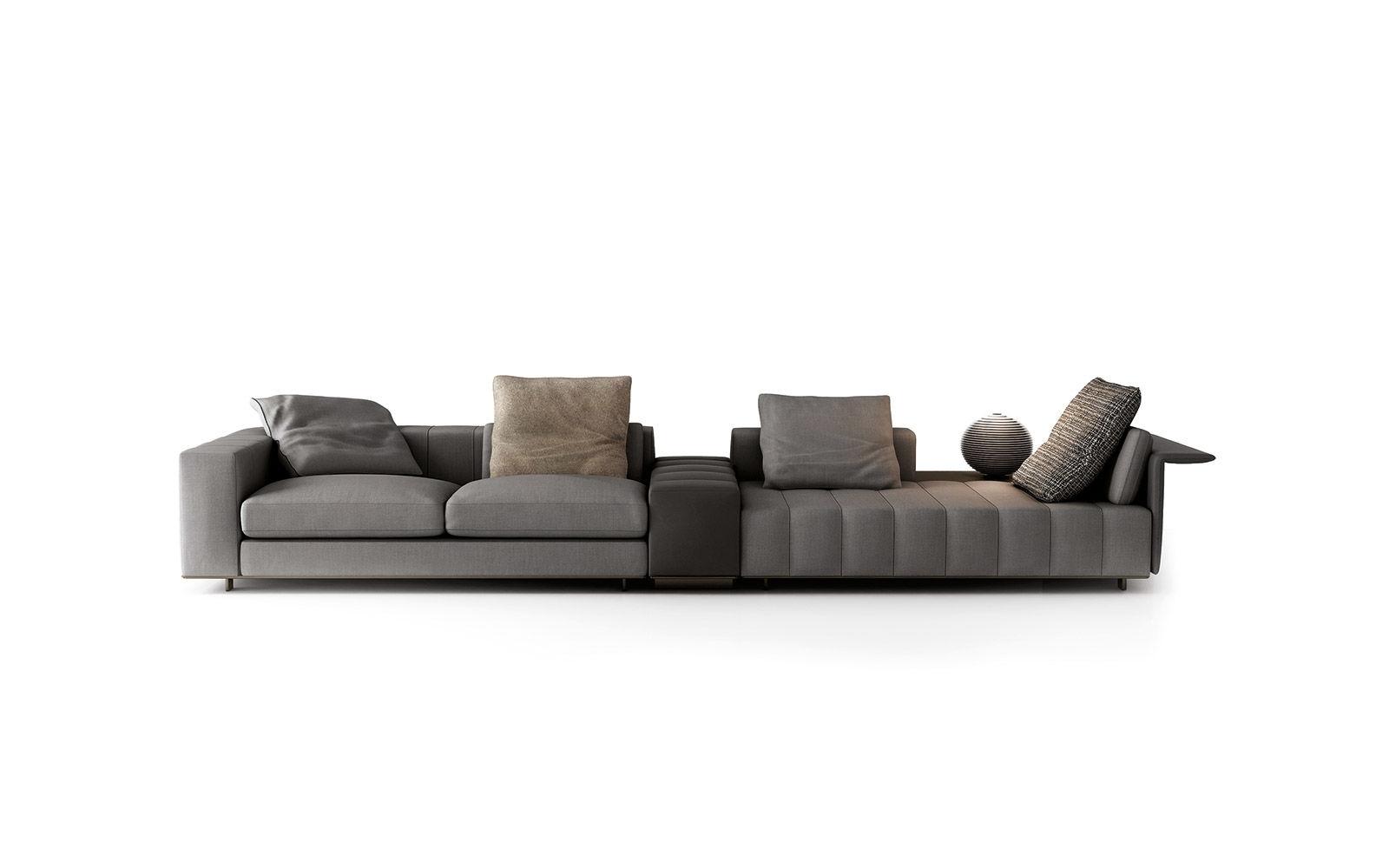Freeman Seating System   Sofas – En Pertaining To Calder Grey 6 Piece Manual Reclining Sectionals (Image 13 of 25)