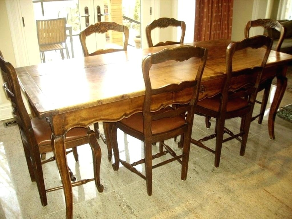 French Country Dining Room Chairs French Country Dining Chair French With French Country Dining Tables (Image 8 of 25)