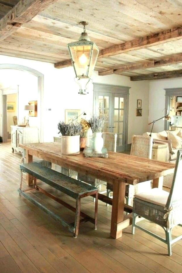 French Country Dining Room French Country Dining Room Best Country Pertaining To Country Dining Tables (View 11 of 25)