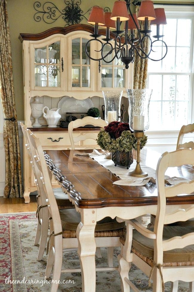French Country Dining Room Table Dining Room Unique Best Country With Regard To French Country Dining Tables (Image 9 of 25)