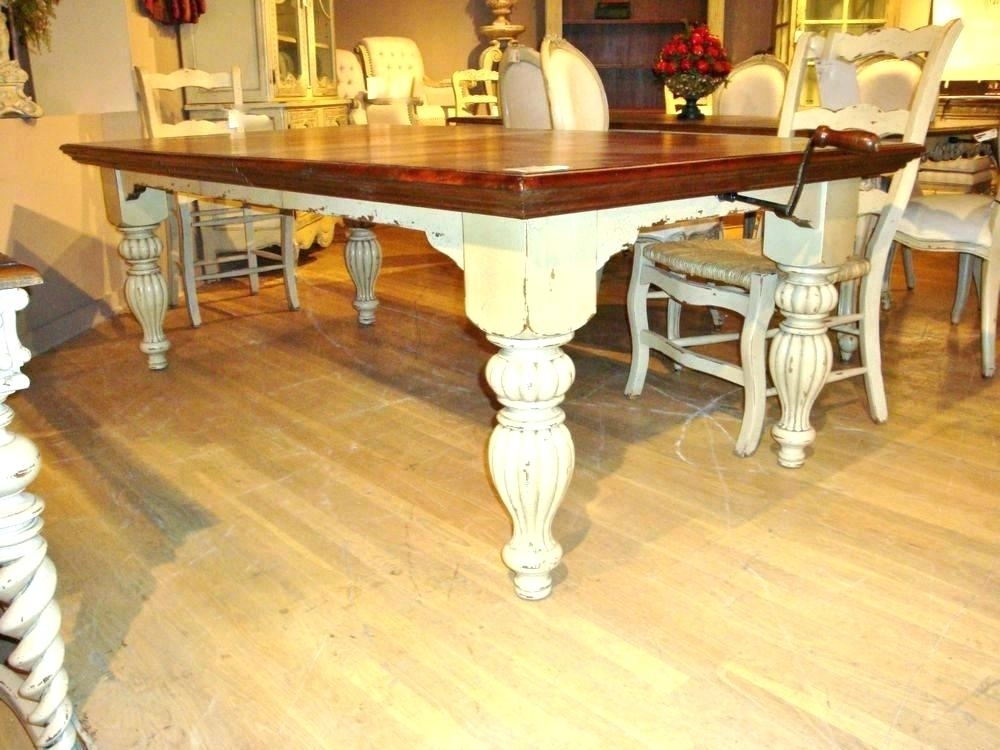 French Country Dining Table And Chairs – Pathidea Regarding Country Dining Tables (Image 14 of 25)