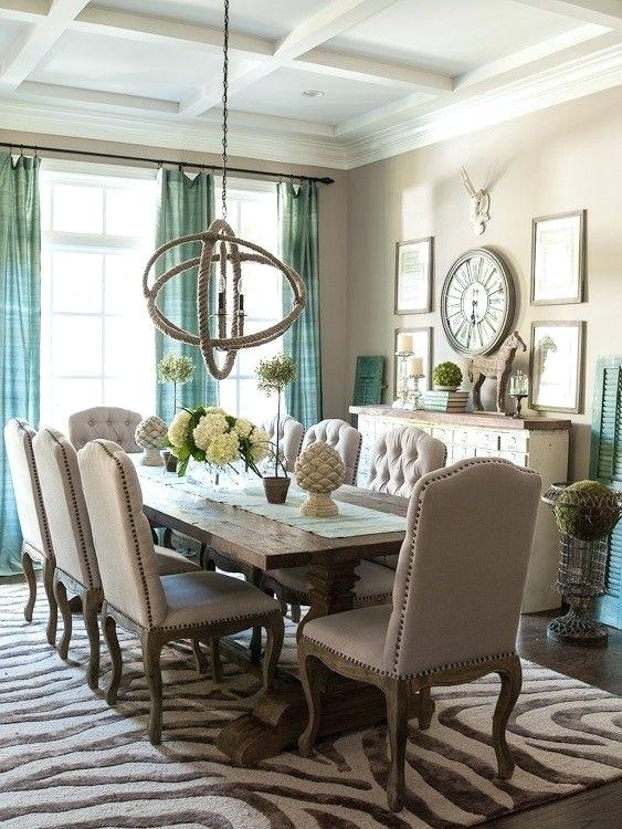 French Country Dining Table Country Style Dining Room Furniture Within French Country Dining Tables (Image 11 of 25)