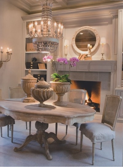 French Country Furniture | Eloquence | Bobo Collection | Dining Tables In French Country Dining Tables (Image 18 of 25)