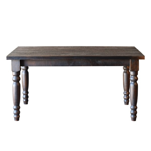 French Country Kitchen & Dining Tables You'll Love | Wayfair Throughout Natural Wood & Recycled Elm 87 Inch Dining Tables (Image 12 of 25)