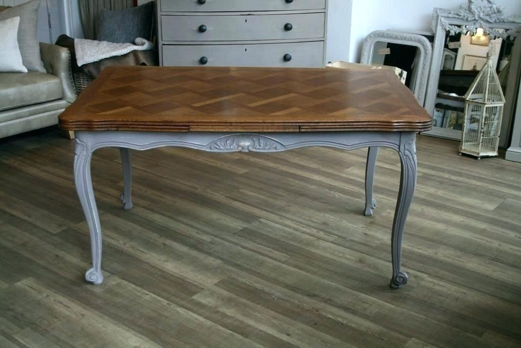 French Extending Dining Table Tables Provincial Three Rare Vintage With Regard To French Extending Dining Tables (View 15 of 25)