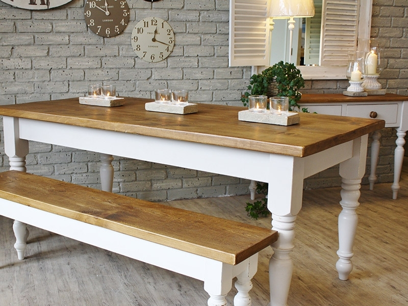 French Farmhouse Dining Table – Farmhouse Dining Table Decorating With Regard To French Farmhouse Dining Tables (Image 12 of 25)