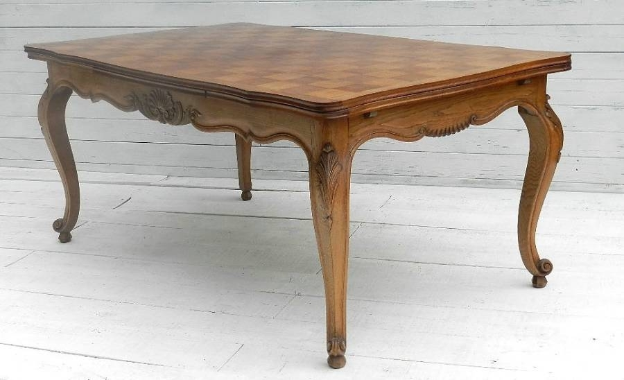 Featured Photo of French Extending Dining Tables
