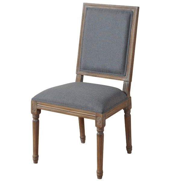 French Oval Back Dining Chair | Wayfair With Caira Black 7 Piece Dining Sets With Arm Chairs & Diamond Back Chairs (Image 12 of 25)