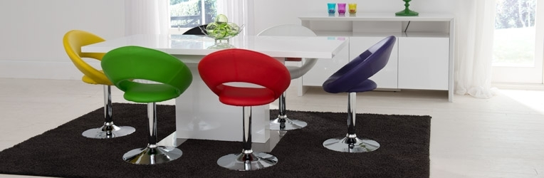 Fun Dining With Rainbow Chairs | Trying To Balance The Madness Inside Smartie Dining Tables And Chairs (View 3 of 25)
