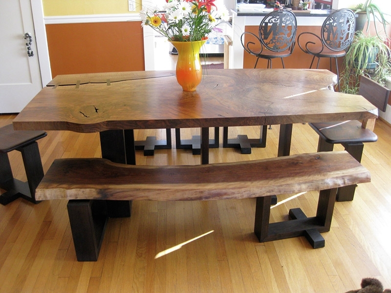 Functional Dining Table Bench For Narrow Dining Area | Iomnn Throughout Small Dining Tables And Bench Sets (View 15 of 25)